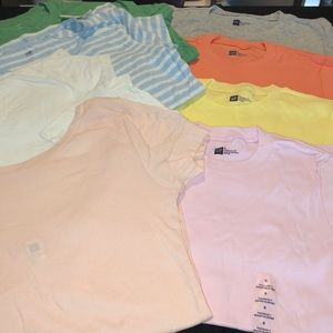 Gap- 8 pc gap tee bundle size small NWT